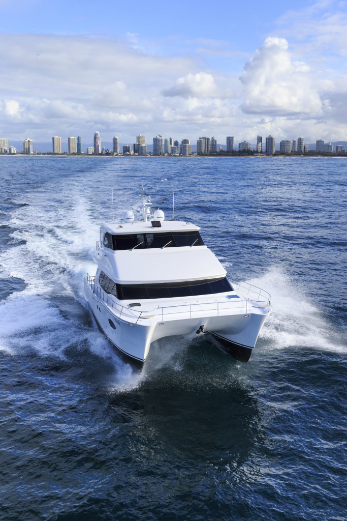 Nationwide Boat Shipping can ship your multi-hull power boat!